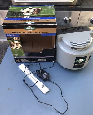 Used Petsafe Wireless Pet Dog Containment System - Needs Collar for Sale in Graham, WA