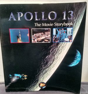 APOLLO 13 🚀THE MOVIE STORYBOOK + BONUS PIC (1995 Brand New) for Sale in San Diego, CA