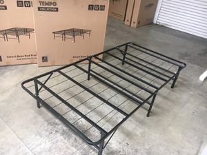 Photo Tempo Collection 14 inch High Profile Platform Smart Base Bed Frame, Twin
