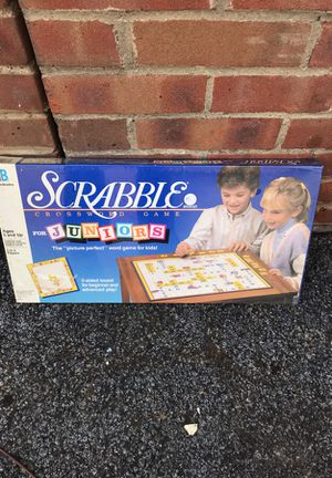 1989 scrabble kids game new in box 5.00 for Sale in Fairview Park, OH