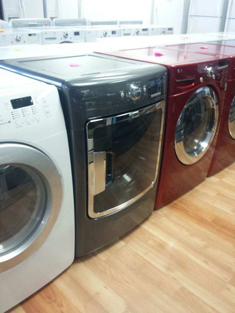 MAYTAG GRAY FRONT LOAD GAS DRYER ONLY