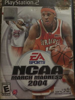 Playstation 2 Video Game - NCAA MARCH MADNESS 2004 - used for Sale in San Diego, CA