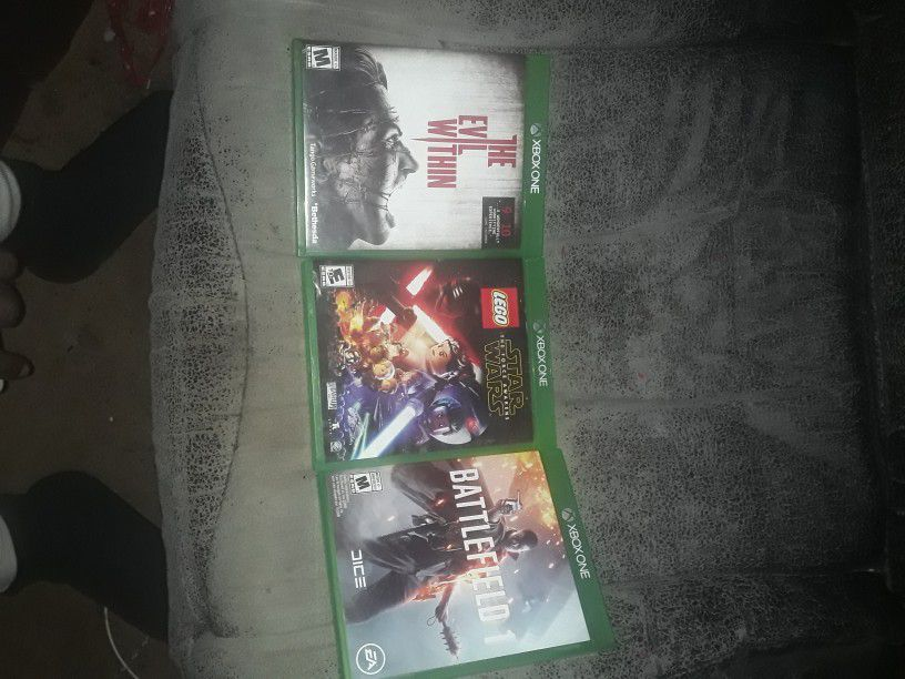 X Box 1 Games