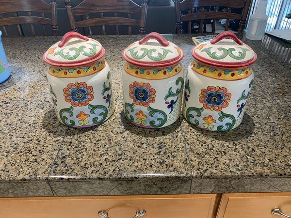 Ceramic kitchen canisters for Sale in Buena Park, CA - OfferUp