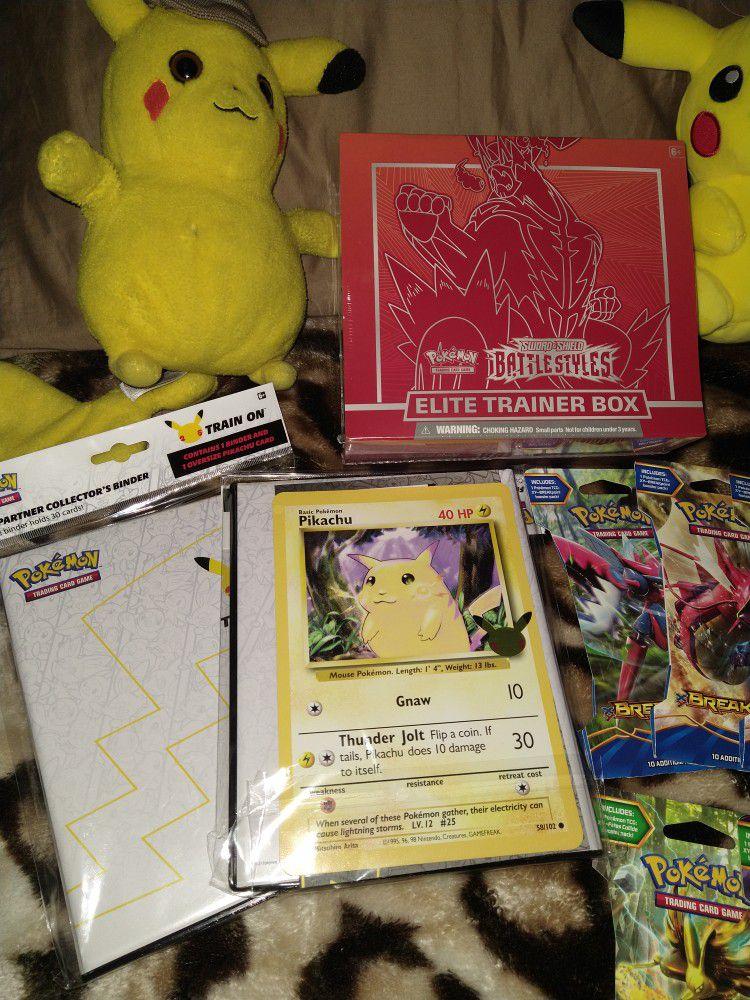 Pokemon Bundle(New)Read Below 🔥