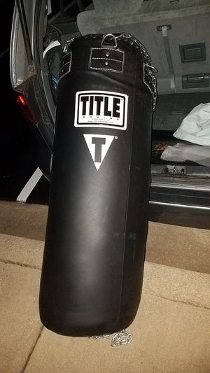 Title professional choice leather heavy bag for Sale in Germantown, MD
