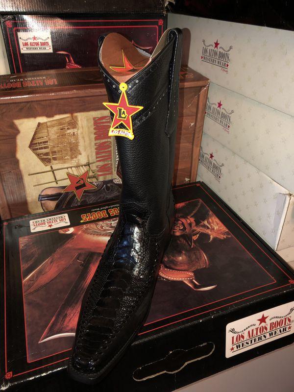 9e718c2628d Los Altos Ostrich Leg & Deer Skin Boot 9 for Sale in Morrow, GA - OfferUp
