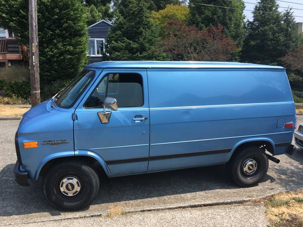 1995 Chevy G10 Shorty Van for Sale in Seattle, WA - OfferUp