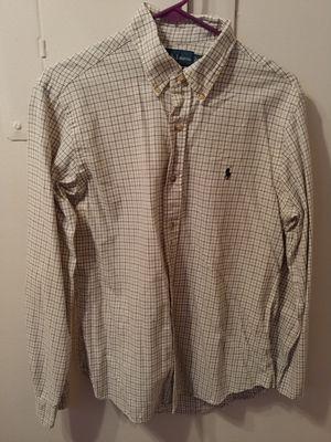 be3eeca9 Polo Ralph Lauren fine plaid cotton shirt, medium for Sale in Charleston, SC
