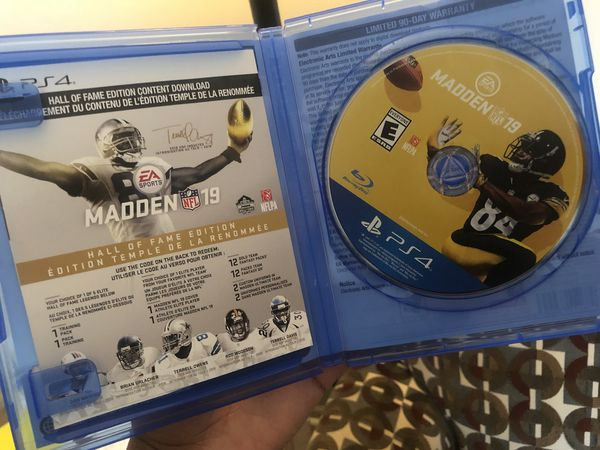 Madden 19 hall of fame edition (PS4) for Sale in Chesapeake, VA - OfferUp