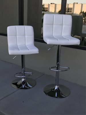 Photo New in box $40 each barstool bar counter height adjustable 24 to 33 high chair stool kitchen counter furniture