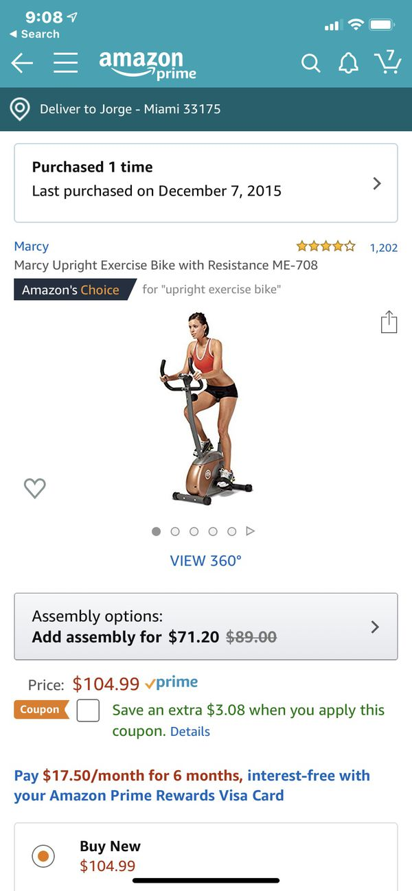 New and Used Exercise bike for Sale in Weston, FL - OfferUp