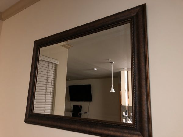 Brown Mirror For Sale In Moreno Valley Ca Offerup