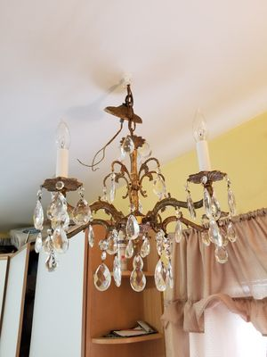 New and used chandeliers for sale in bristol ct offerup antique brass chandelier for sale in danbury ct aloadofball Choice Image