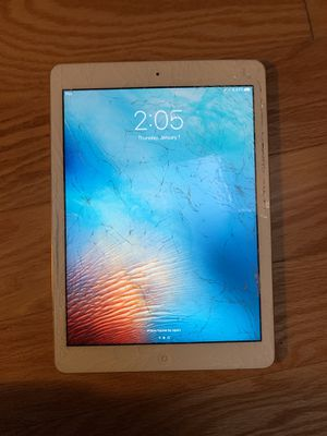 Apple iPad Air MF529LL/A (32GB, Wi-Fi + AT&T, White with Silver) for Sale in Washington, DC