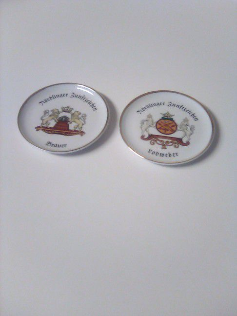 Collectible Plate...Set Of 2...Vohenstraiss