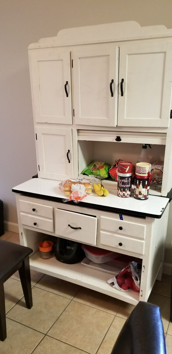 Antique Hoosier Cabinet With Flour Sifter For In Conway
