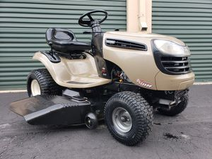 Photo Craftsman DLS3500 Lawn Tractor 46 deck 20HP OHV Briggs engine PRICE IS FIRM