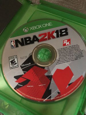 NBA 2K18 Xbox One for Sale in Silver Spring, MD