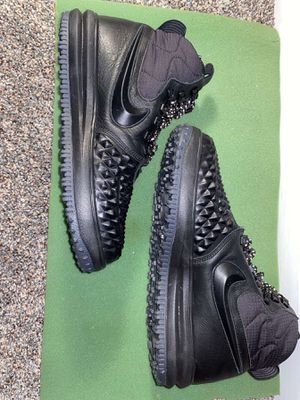 Photo Nike Lunar Duck Boots Triple Black '17