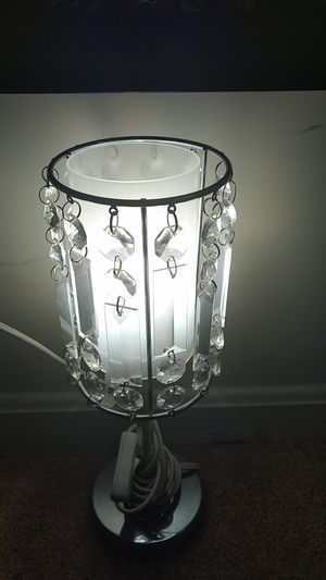 Fashionable crystal lamp for Sale in Chantilly, VA