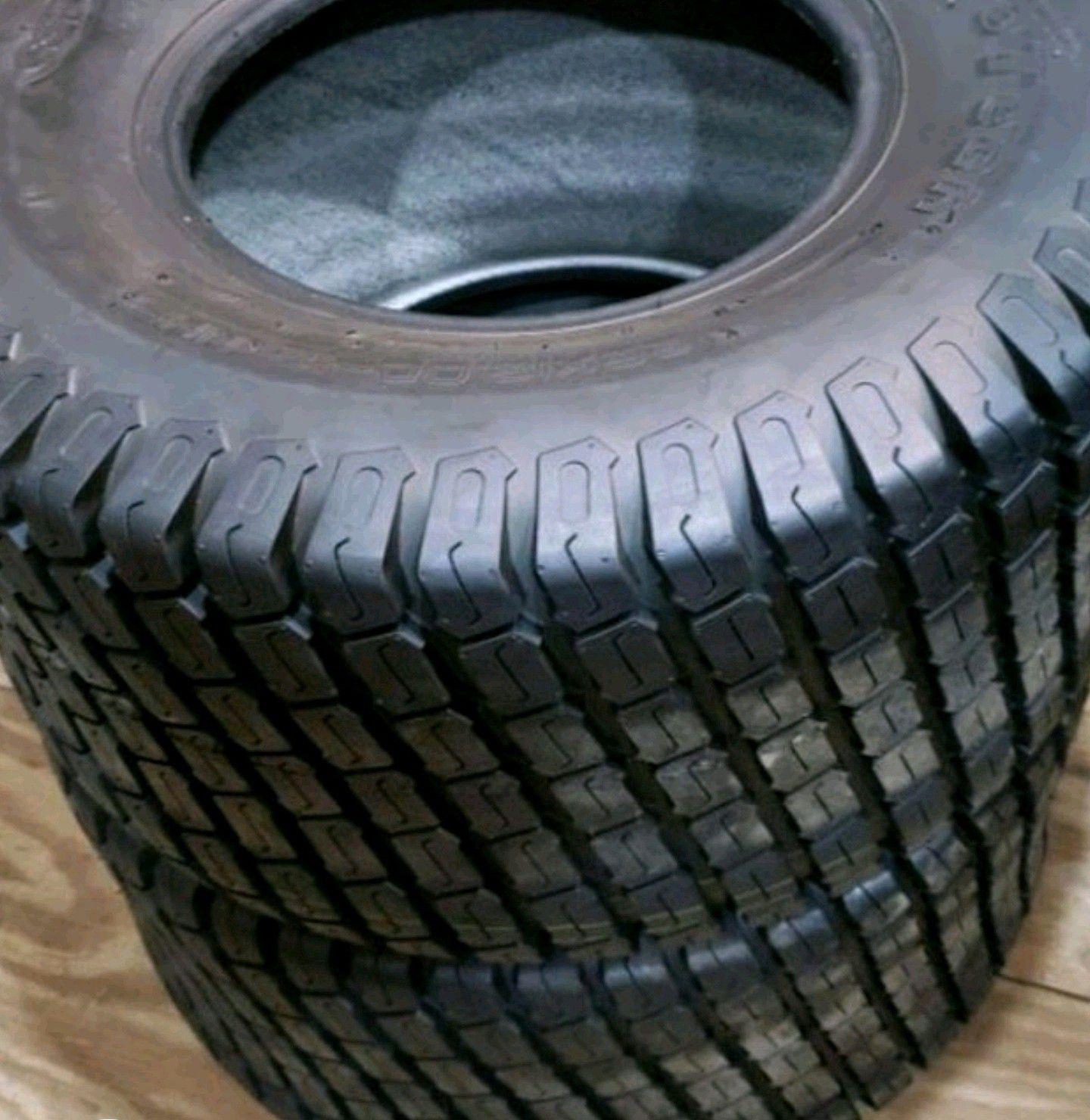 Lawn and Garden tires rear set.