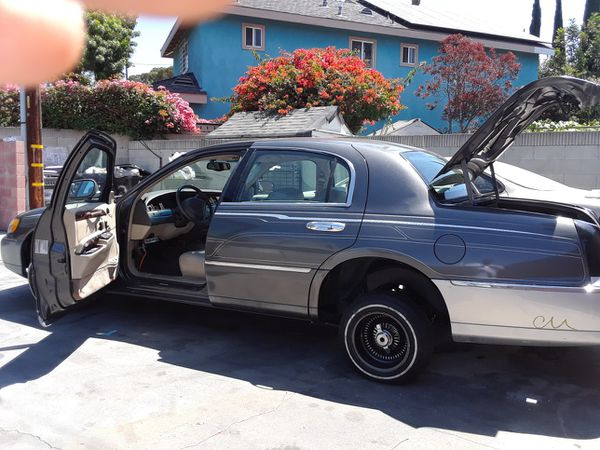 1999 Lincoln Town Car Cartier Lowrider For Sale In Los Angeles Ca