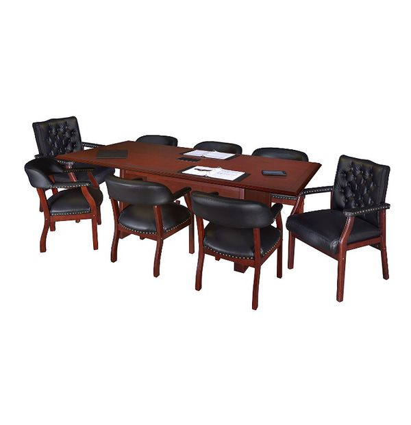 REGENCY PRESTIGE BY INCH CONFERENCE TABLE WITH POWER DATA - Regency conference table