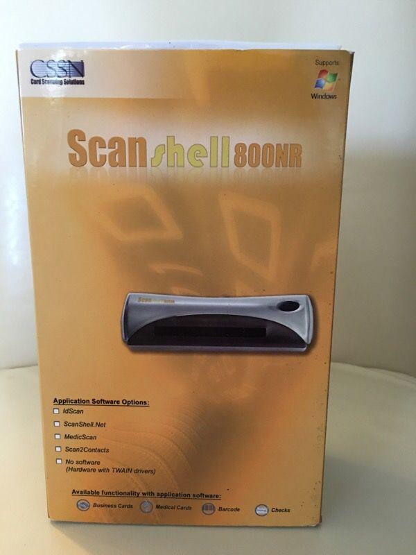 Scan Shell 800NR(Business Car Scanner) for Sale in Pembroke Pines, FL -  OfferUp