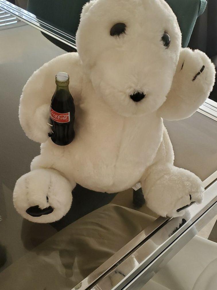 """12"""" Coca Cola Bear"""