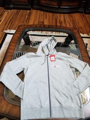 Nike air Jordan flight full zip hoodie SWEATSHIRT jacket sz l for Sale in Tulare, CA
