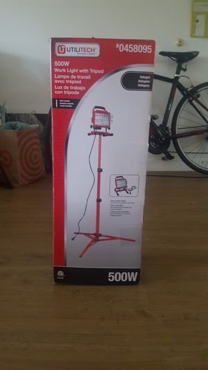 Utilitech Pro 1 Light 40 Watt Led Stand Work Light For