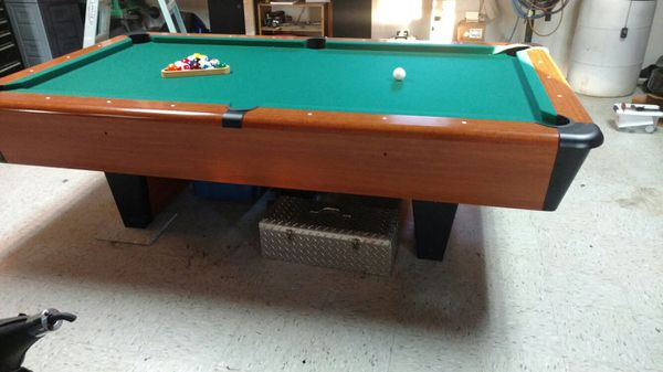 Chicagoan Ft Slate Pool Table For Sale In Searcy AR OfferUp - Chicagoan pool table