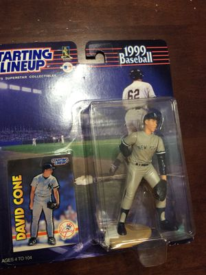 New York Yankees David Cone Starting Lineup 1999 collectible action figure for Sale in Mesa, AZ