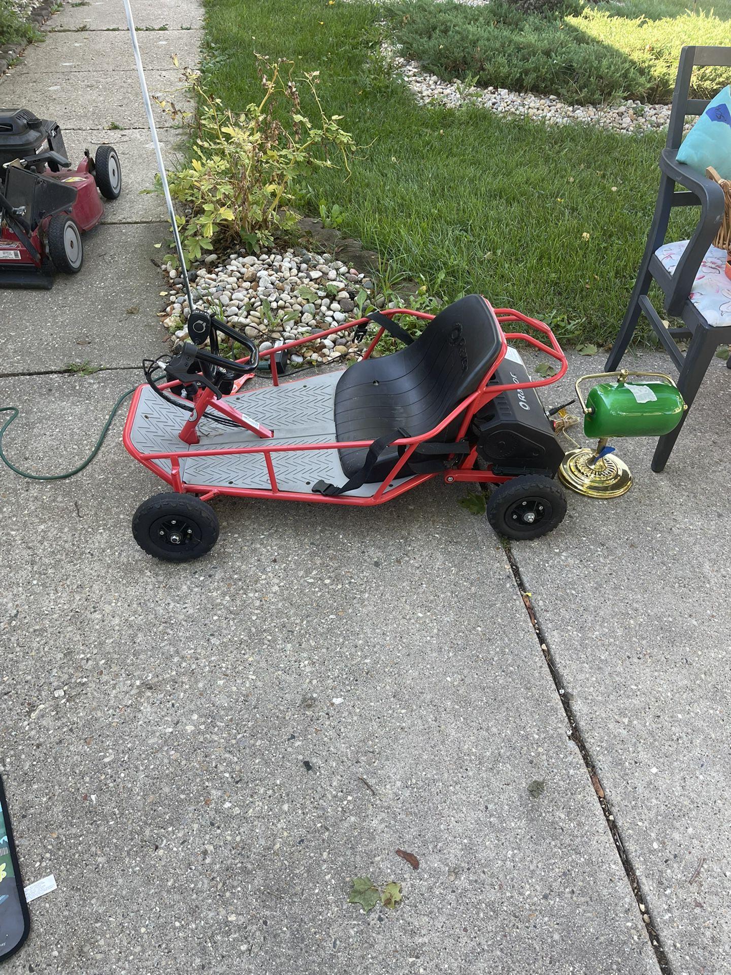Razor Electric Go cart Off Road Dune Buggy