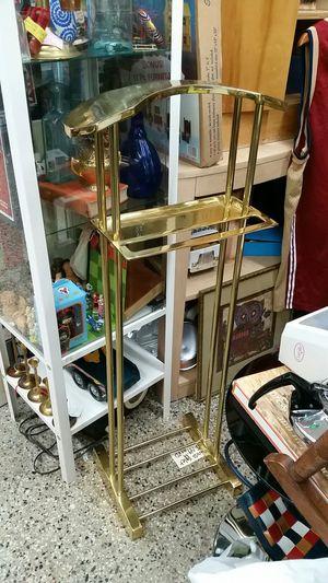 Heavy Brass Valet/Suit Butler vintage! for Sale in Montgomery Village, MD