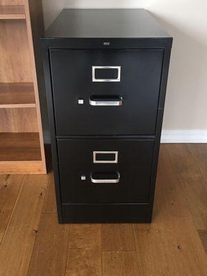 Photo HON Black 2 Drawer Filing Cabinet