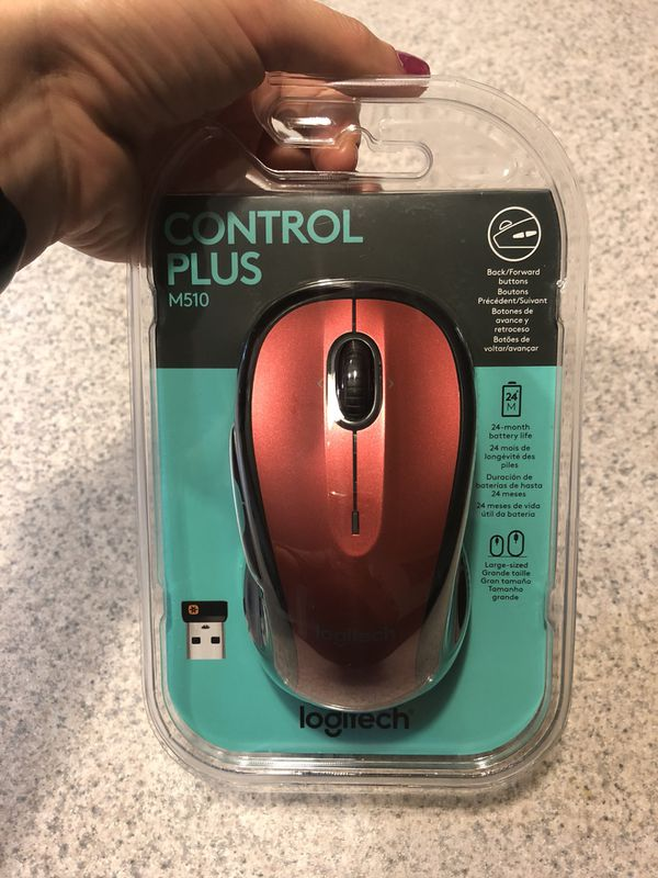 Brand new Logitech M510 Wireless Mouse, Red for Sale in Frederick, MD -  OfferUp