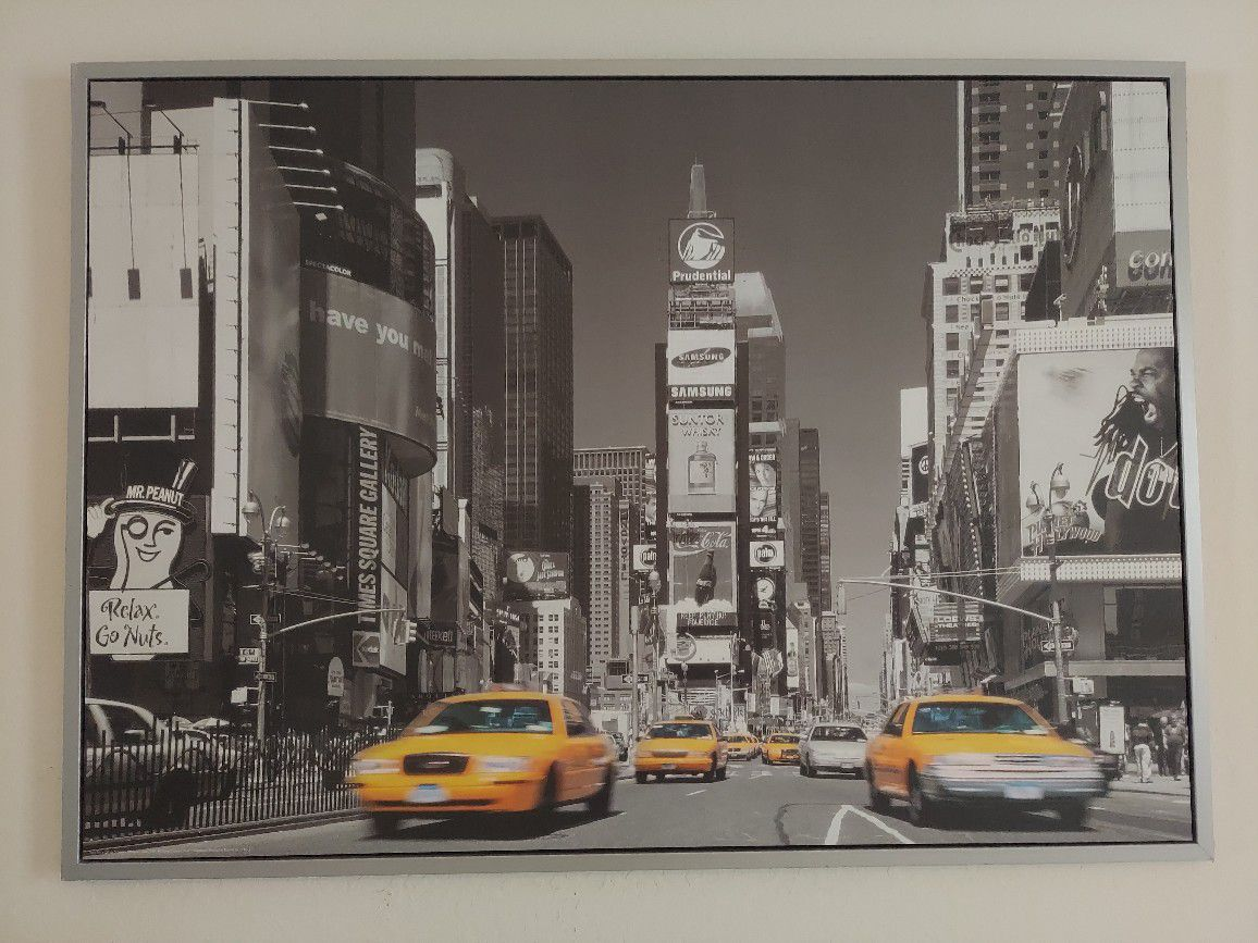 Wall Hanging/Times Square