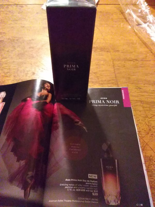 Avon Prima Noir Eau De Parfum Warm Spicy For Women 17 Fi Oz For