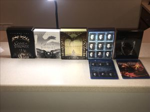 GAME IF THRONES (ALL SEASONS), blu-ray + digital disc, brand new for Sale in Fairfax Station, VA