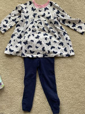 3 Baby girl outfits (size 24 months) for Sale in Centreville, VA
