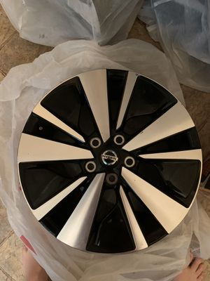 Photo 2019 Nissan Altima 17 inch rims