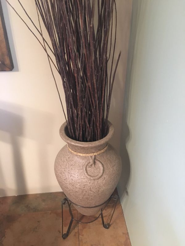 Decorative Potvase With Twigs Household In New River Az Offerup