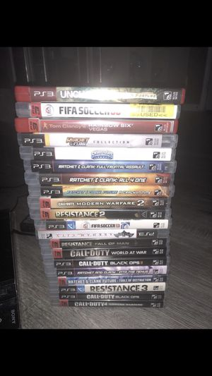 20 video game for PlayStation ps3 $125!!! 20 video juegos para PlayStation ps3 $125 for Sale in Ashburn, VA