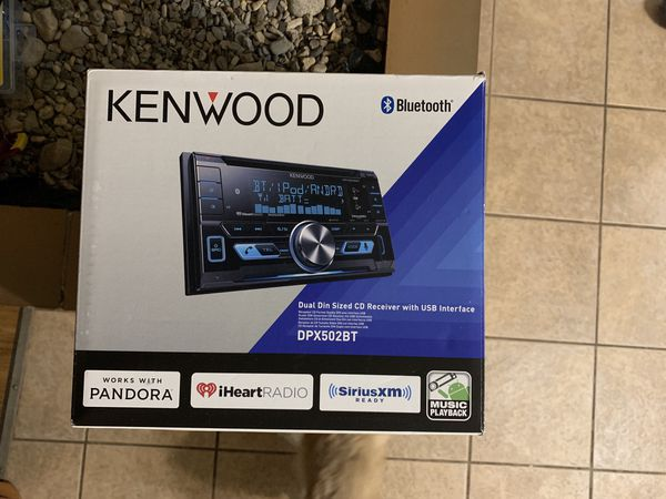 Kenwood Dual Din DPX502BT for Sale in Chickasha, OK - OfferUp