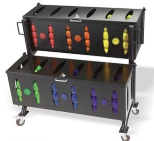 Hampton Group X Two-Tiered Jelly Bell Rack for Sale in Houston, TX