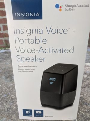 Smart Speaker with Google Assistant/ Portable for Sale in Silver Spring, MD