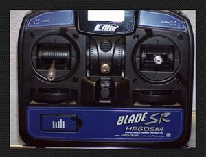 Eflight Blade 6 Channel 2.4GHz DSM2 Transmitter HP6DSM SR EFLH1057 RC helicopter drone remote control for Sale in Kissimmee, FL