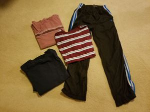 Size 14/16 boys 3 tee shirts 1 jogging pants Preowned for Sale in Germantown, MD